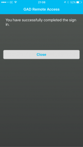 MFA Close App